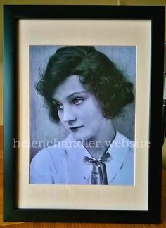 An original portrait of Helen as Charity Clarkson in the stage production of 'First Flight' at the Plymouth Theatre, New York City, September - My collection. Helen Chandler, Plymouth, New York City, Charity, Theatre, Stage, September, Portrait, The Originals