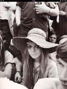 Hippie girl,1969