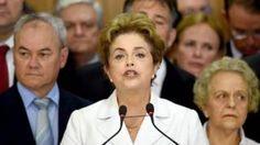 """Image copyright                  Getty                  Image caption                     """"No es un 'impeachment', es un golpe"""", dijo Dilma Rousseff.   """"Cuando una presidenta electa es juzgada bajo la acusación de un crimen que no cometió, el nombre que se le da a eso en el mundo democrático no es 'impeachment', es golpe"""". Eso dijo Dilma Rousseff el jueves, recién suspendida por el Senado de su cargo de pr"""