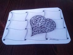 Cartão Zentangle by Lucia Haddad