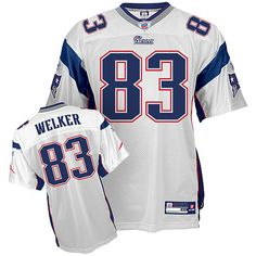 Reebok New England Patriots Wes Welker 83 White Replica Jerseys Sale