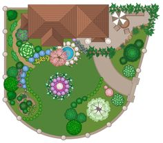 Superior Examples How To Draw Landscape Design For My Garden Landscape Design Drawing Residential Landscape Design Drawings Garden Design Ideas Uk, Garden Design Software, Landscape Design Software, Small Garden Landscape, Landscape Plans, Inkscape Tutorials, Plans Architecture, Garden Solutions, Plant Vector