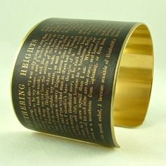 Hesitant to tattoo your favorite literary passage on your arm? Here's an alternative, available on Etsy.