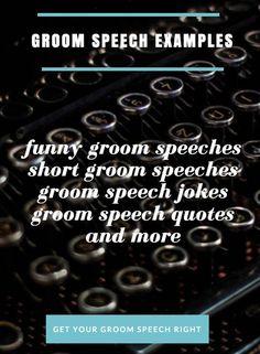 How To Write A GroomS Speech WwwSimplythebestgroomCom  Random