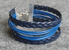 leather braids