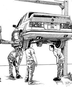 BMW M3 E 30                                                                                                                                                                                 Más
