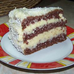 Hungarian Cake, Hungarian Recipes, My Recipes, Sweet Recipes, Cookie Recipes, Eastern European Recipes, Food And Drink, Birthday Cake, Pudding