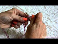 Navajo Knitting (Chain-Plying) - YouTube