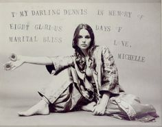 Michelle Phillips par Dennis Hopper