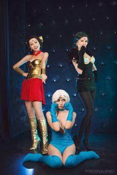 Berthier and sisters - Elizaveta Glebova(Usagi48Tsukino) Berthierite Cosplay…