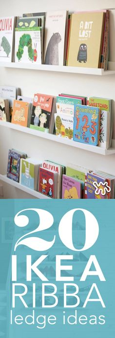 Picture ledges are inherently versatile because they allow you to quickly and easily swap art in and out on a whim. But they may be a whole lot more versatile than you realized as you'll see by these 20 alternative uses. From kid's rooms to closets, this IKEA Ribba find will be a storage solution you go to again and again.
