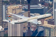 Etihad Airways A6-EHK Airbus A340-642 aircraft picture