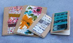 Poppytalk: DIY Moleskine Scrapbook