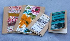 This could  be a fun way to use up those composition books you picked up in the fall when they were 4 for a dollar