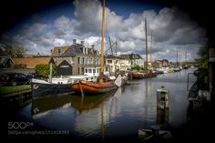 "Water way of the city "" Lemmer "" by ClausSrensen2"