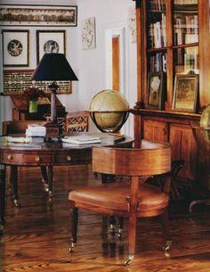 Room designed by Chessie Rayner for Bill Blass