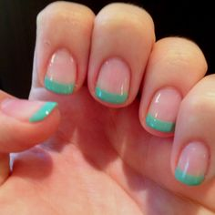Color French tips