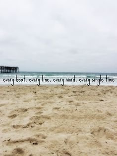 Every beat, every line, every word, every single time We Were Us lyrics by Keith Urban and Miranda Lambert Pacific Beach, California