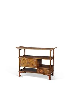 SHODANA CABINET IN LACQUER | JAPAN, EDO TIME, XVII CENTURY | wood | Christie's Oldies But Goodies, Cabinet, Entryway Bench, Wood, Furniture, Home Decor, 18th Century, Clothes Stand, Madeira