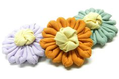Sewing and Crafting with Sarah: DIY Fabric Flowers Tutorial
