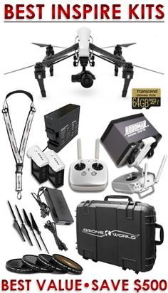 DJI Inspire 1 Drone Bundle $2,619.00