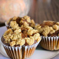 Muffins especiados de calabaza