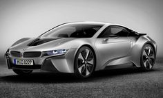 2014 BMW i8 Coupe - 400 horsepower, 0-50 in <5 seconds, and it's a plug-in hybrid!