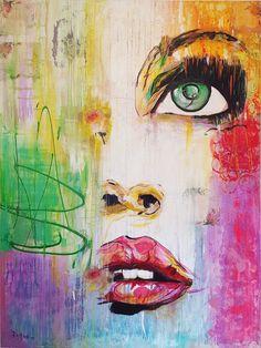 "Ramune Art ""Pure in heart""❤canvas 120x160 #portraitartist #portraits #faces #artist #painting #webnartclub #pure #heart #contemporary #contemporaryart #interiør #womenstyle #beautyandthebeast #womenbeauty #interiordesign #interiors #homedeco #ramune_art # #ichliebees #instaartist #kunstliebe #kunst #instacool #instaart #artistsoninstagram #abstractartist #abstraktekunst #mirthiferous #artworks_portrait"
