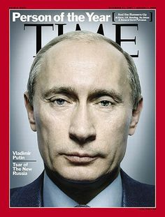 TIME Magazine Cover: Person of the Year: Vladimir Putin - Dec.