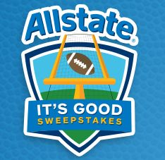 Allstate Weekly Prizes Giveaway Sweepstakes http://sendmesamples.com/allstate-weekly-prizes-giveaway-sweepstakes/