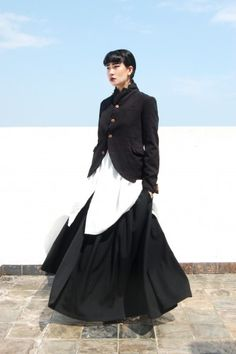 Yohji Yamamoto via The Rosenrot | For The Love of Avant-Garde Fashion