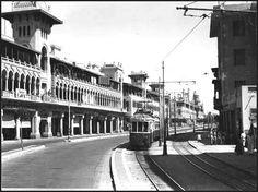 Early 20th century photo taken near Roxy Square, Cairo.