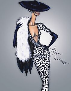 Hayden Williams Fashion Illustrations: 'Who's That Girl?' by Hayden Williams