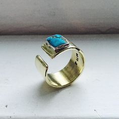 """@micah.hamilton """"Freshly polished custom version of the Day Eight cuff ring. The original Day Eight ring is currently listed in my shop but can also be customized in any…"""""""