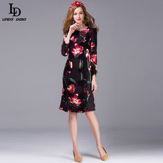 Women's Half Sleeve Vintage Floral Embroidered Black Lace Long Dress Like if you remember www.skaclothes.co... #shop #beauty #Woman's fashion #Products