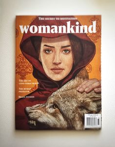 Womankind magazine covers.