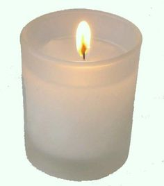 36 X Frosted Glass Wedding Votive Candle Holder Candle   eBay - $38