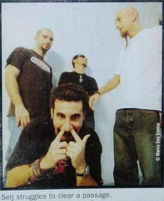 See System of a Down pictures, photo shoots, and listen online to the latest music. Nu Metal, Rock Y Metal, System Of A Down, Latest Music, New Music, Syndrome Of A Down, Pablo Escobar, Rage Against The Machine, Linkin Park