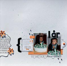 Gummiapan                           : En layout och ett kort Polaroid Film, Layout, Velvet, Page Layout