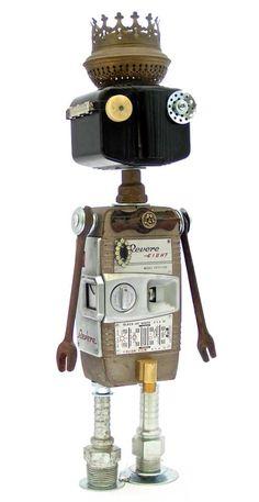➰Robot. (I) #Robot #junkart