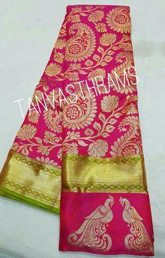 Tussar Silk Saree, Kanchipuram Saree, Soft Silk Sarees, Indian Bridal Sarees, Wedding Silk Saree, Latest Silk Sarees, Katan Saree, Stylish Blouse Design, Designer Silk Sarees