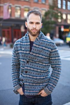 Chunky pattern sweaters for fall.. #style #men