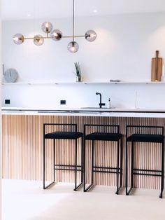 Kitchen Room Design, Interior Design Kitchen, Modern Interior, Küchen Design, House Design, Modern Design, Nordic Kitchen, Cocinas Kitchen, Style Deco