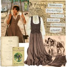 If love this with an olive green skirt. Like a combo between Lizzie Bennett and fraulein Maria