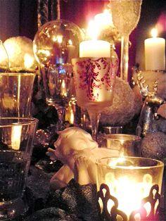 Diner #findining #ralphnuss #artdelatable #candles #tablessettings #noel #christmas #decoration