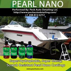 Pearl Nano Coatings - Super Hydrophobic Nano Coatings For Auto Detailers http://PearlNano.com - Detailing and Ceramic Coatings performed by Ed Peck in Detroit- Please visit us @ Pearlnano.com