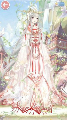 Chỉ là ảnh nv của tui thui ko có j để xem đâu #ngẫunhiên # Ngẫu nhiên # amreading # books # wattpad Anime Kimono, Anime Dress, Manga Anime, Beautiful Anime Girl, Anime Love, Character Art, Character Design, Anime Wedding, Anime Princess