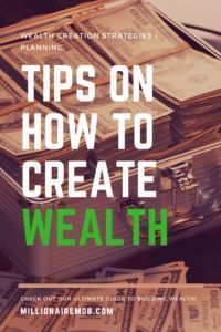 13 Wealth Creation Tips You Need to Know Tips on How to Create Wealth + Free Money Management Tools! Wealth Management, Money Management, Money Tips, Money Saving Tips, Mo Money, Creating Wealth, Wealth Creation, Financial Success, Financial Literacy