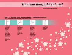 Kanzashi Tutorial - Part 7 by ~Kurokami-Kanzashi on deviantART