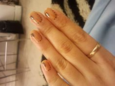 Simple skin black nail art